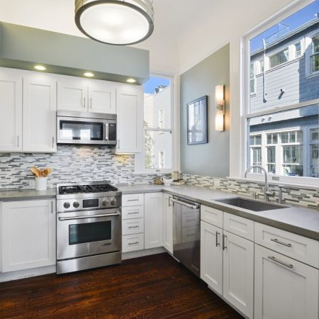 Transitional Kitchen in San Francisco, CA