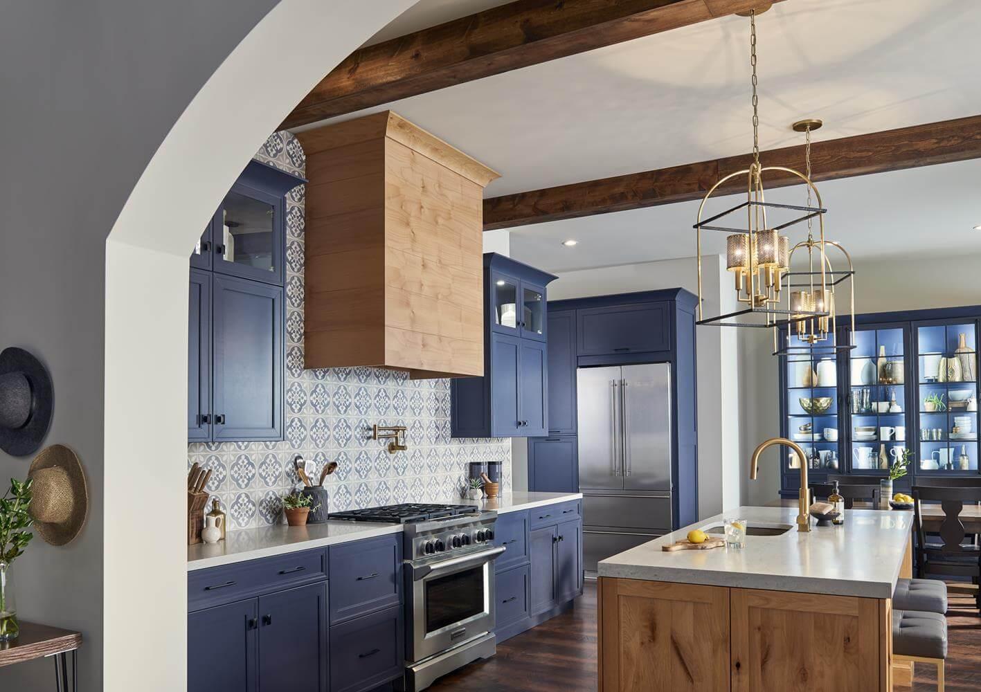recessed panel kitchen cabinet door type style